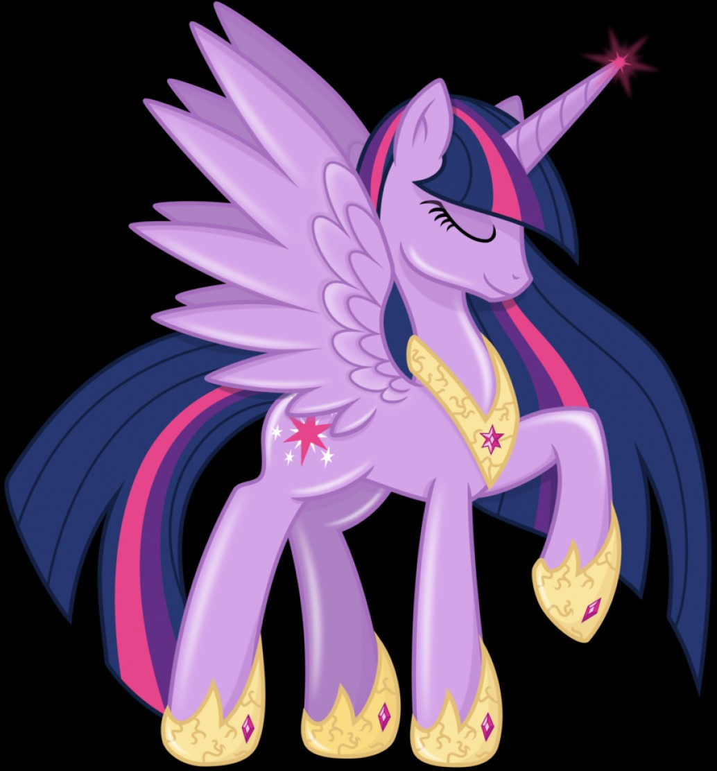 Alicorn Twilight Flying Vector: Alicorn Princess Twilight Sparkle Spark Of Magic