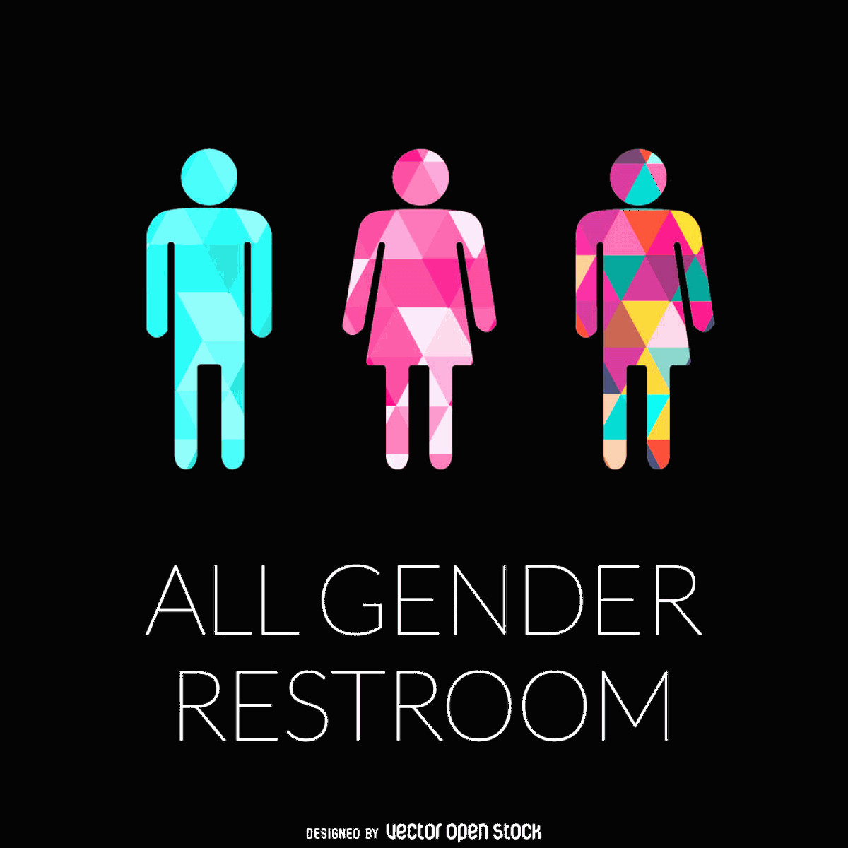 Vector Despicable Me Screams The Moon: All Gender Restroom Signs Are The Best