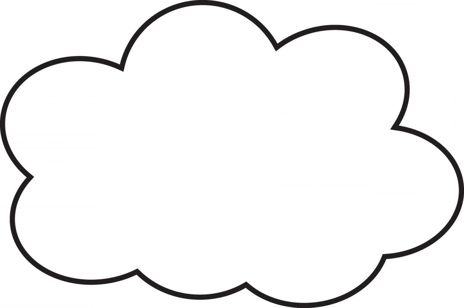 Cloud Outline Vector Black And White: Amazing Chic Cloud Outline Top Clip Art Rain Clouds Clipart Free File Outliner Image Printable Vector Tattoo Emoji