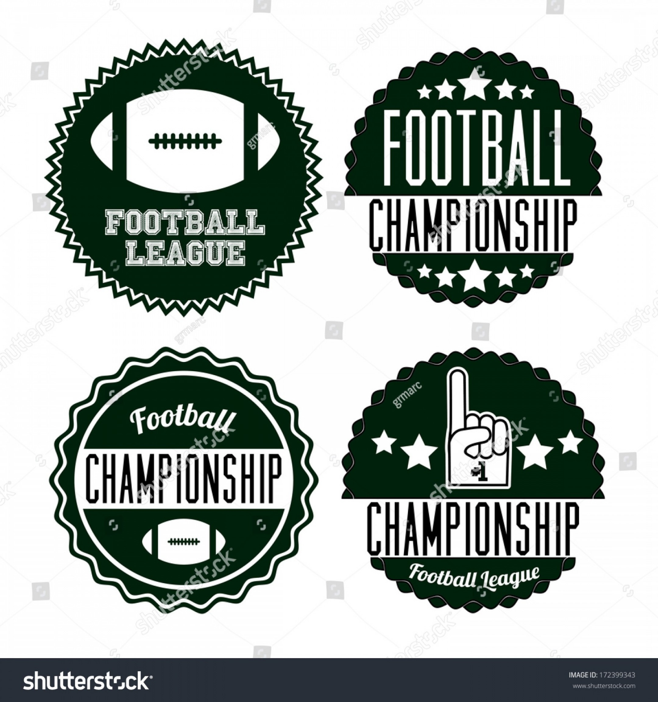 Football Laces Vector Design: American Football Design Over White Background
