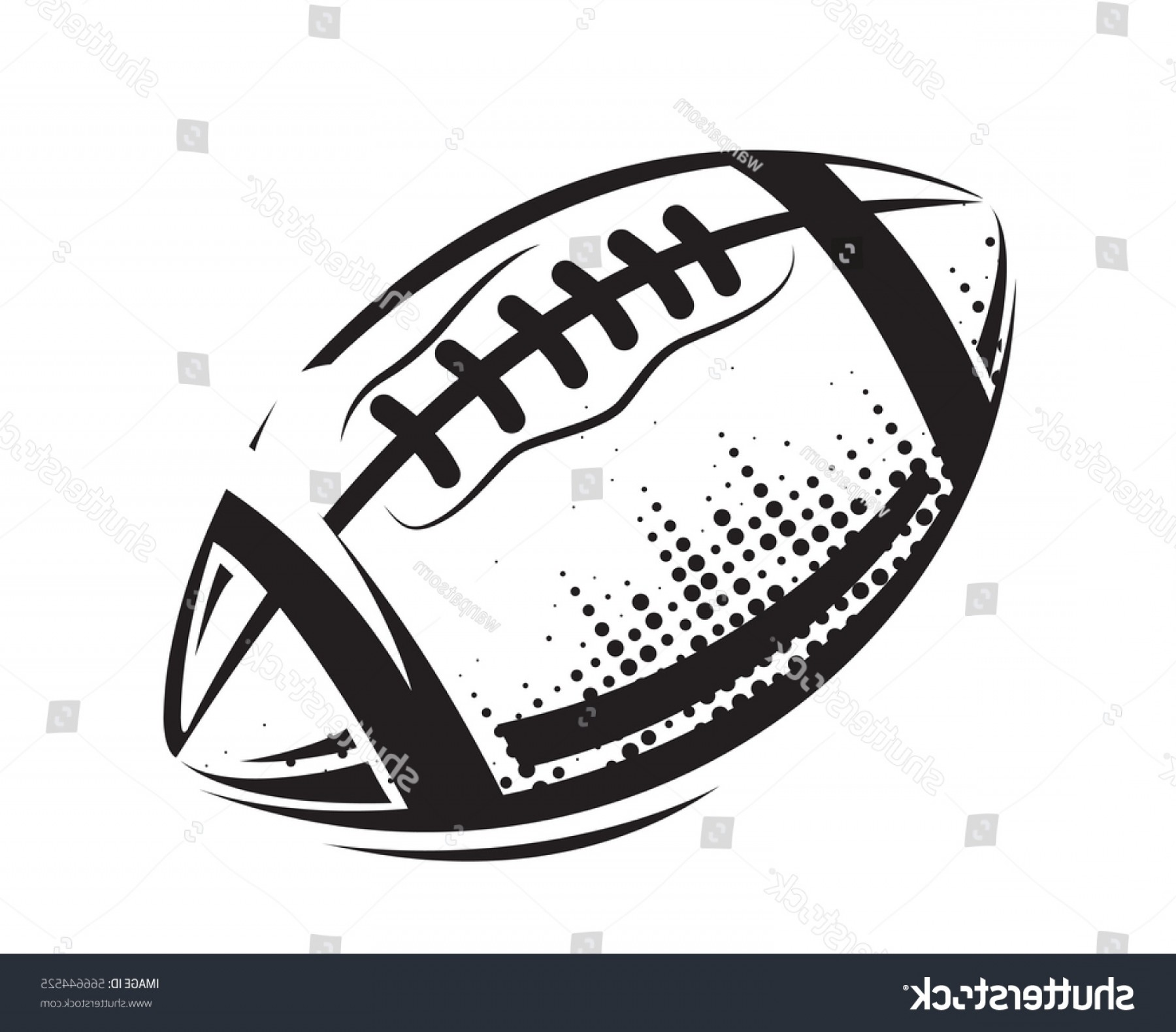 High Res Vector American Football: American Football Icons Ball Isolated On