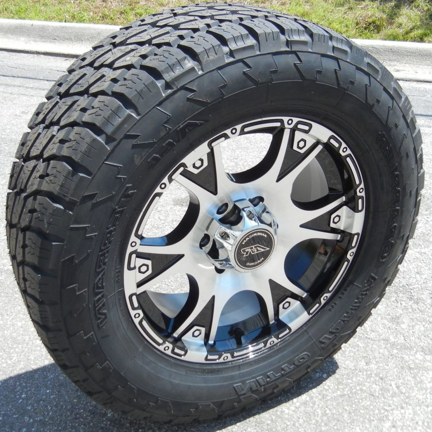 American Racing Vector Rims: American Racing Dagger Wheels Rims Nitto Terra Grappler Ford F