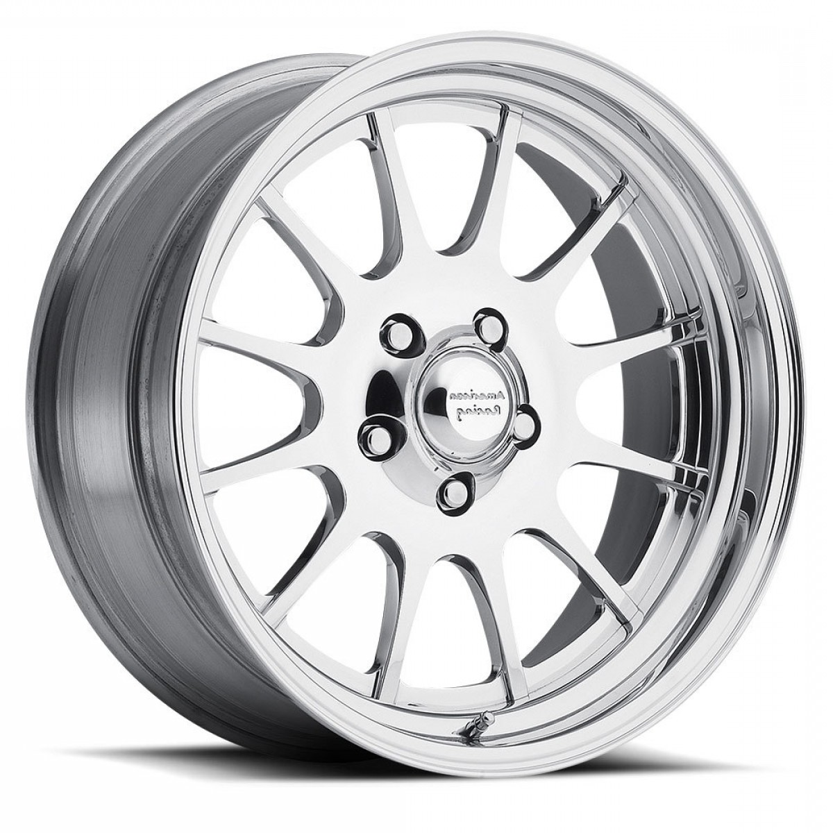 American Racing Vector Rims: American Racing Vector Vn Wheels Rims X Polished Blanks Custom Drilled Bolt Patterns Mm Offset Vnxx