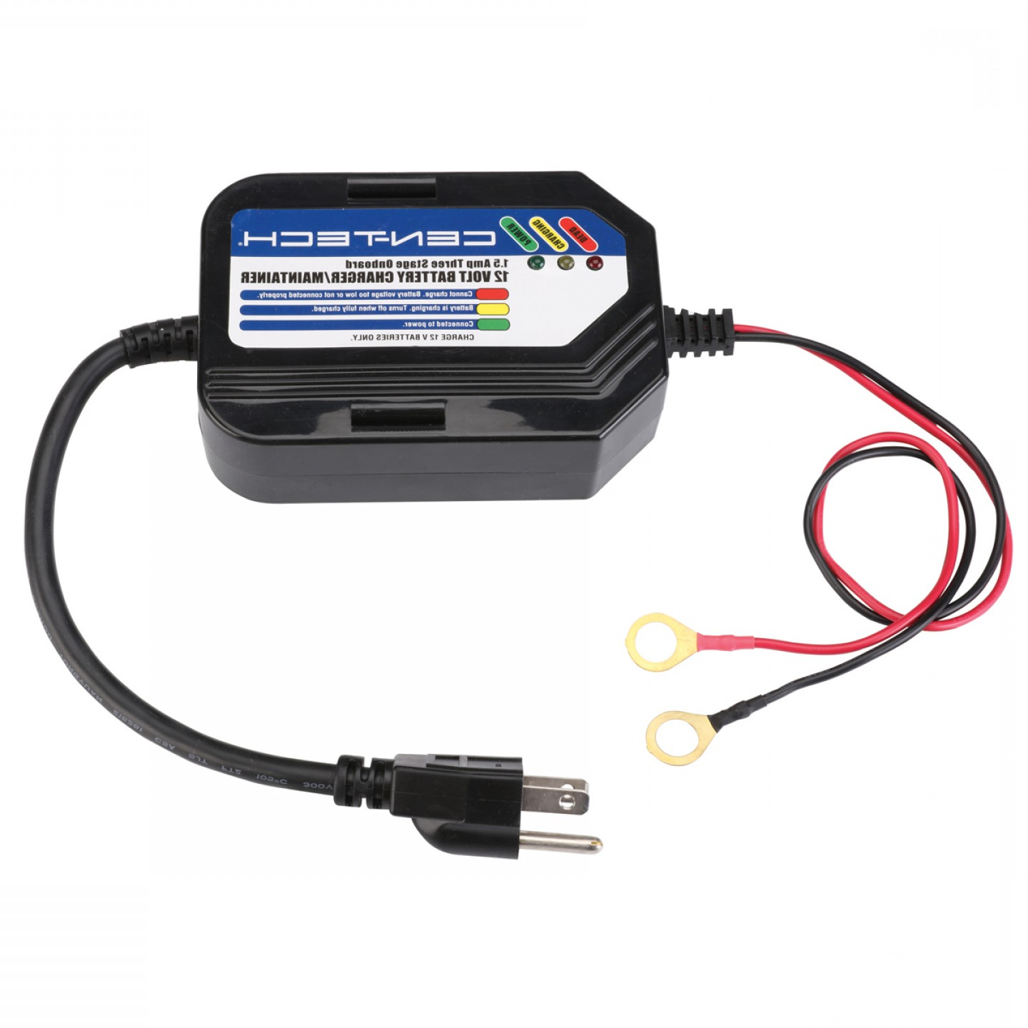 Vector Smart Battery Charger Manual: Amp Three Stage Onboard Battery Charger Maintainer