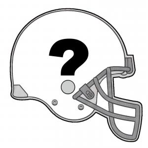Free Football Vector Clip Art: American Football Helmet Line Drawing Vector To Outline