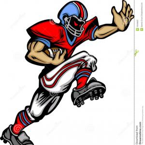 Vector NFL Football Team: American Football Logo Vector Template Design Illustration Image