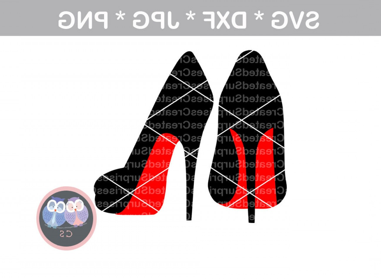 Silhouette Hee High Vector Lsitleetios: Angled High Heels Pumps Stilettos Red