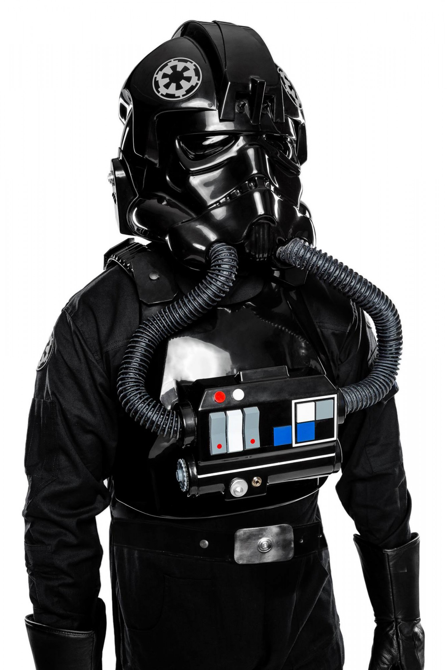 Vector Cosplay: Anovos Tie Fighter Pilot Costume And Darth Vader Helmet First Look