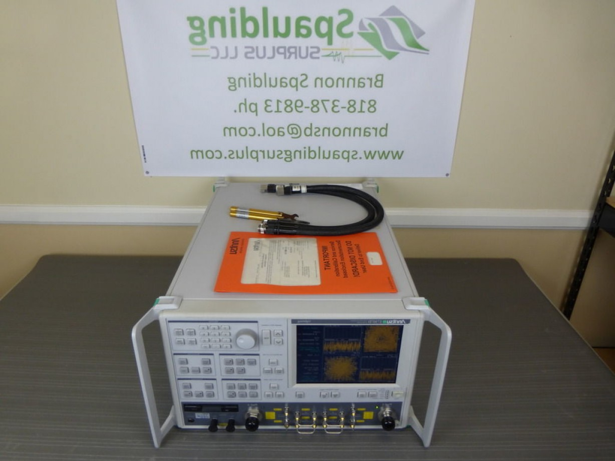 Vector Network Analyzer: Anritsu D Mhz To Ghz Vector Network Analyzer With Cables Mfg Cal