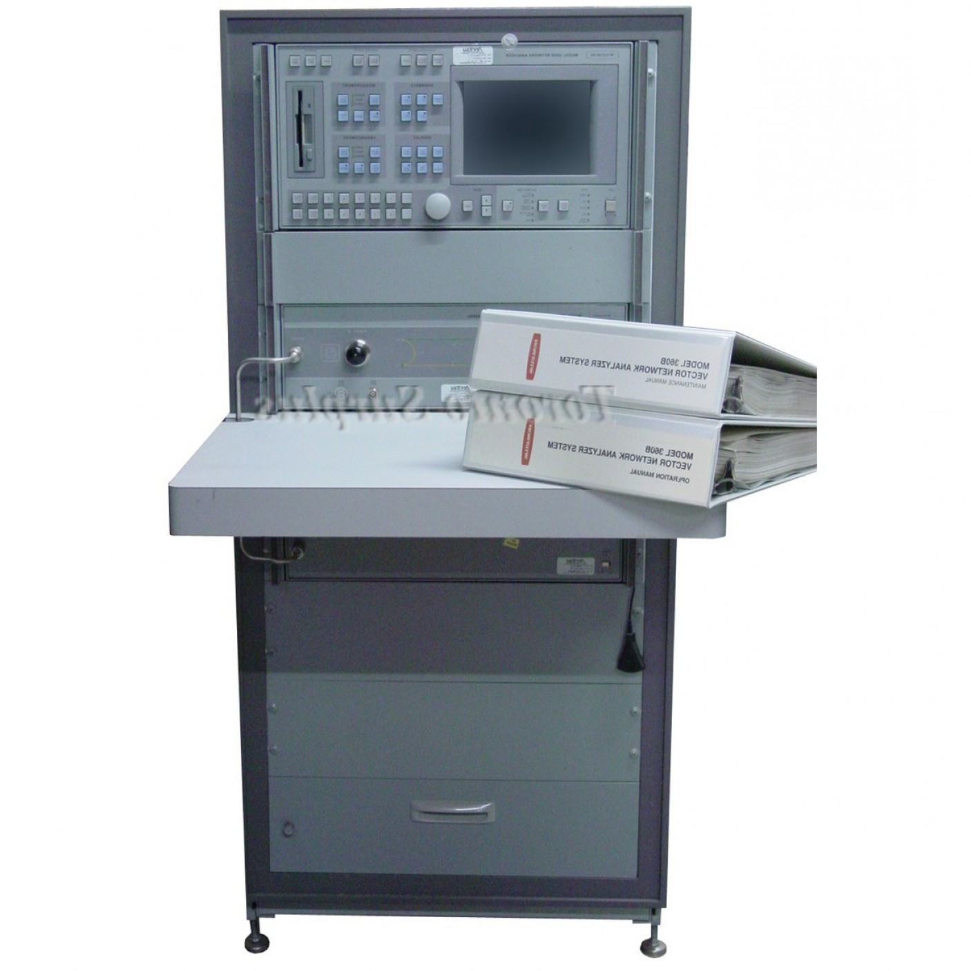 Vector Network Analyzer: Anritsu Wiltron B Vector Network Analyzer Vna Mhz To Ghz With A Active Device Test Set Ss System Source And Manuals