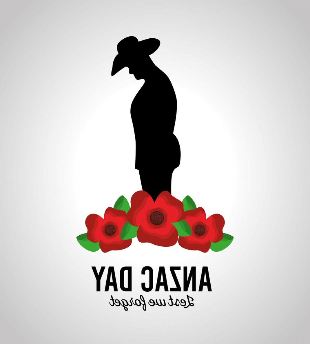 RE MAX Vector: Anzac Day Lest We Forget Patriotism National Vector