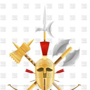 Vector Ancient Battle: Chinas Ancient Battlefield Chibi Battle Painting Vector Material China Illustrations Vectors Ai Esp
