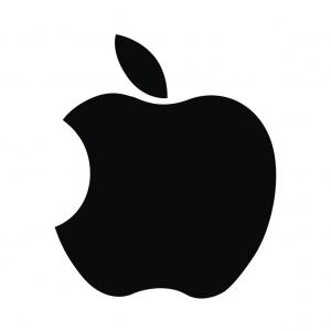 Apple IPhone Logo Vector: Apple Logo Computer Ipad Iphone Software Vector