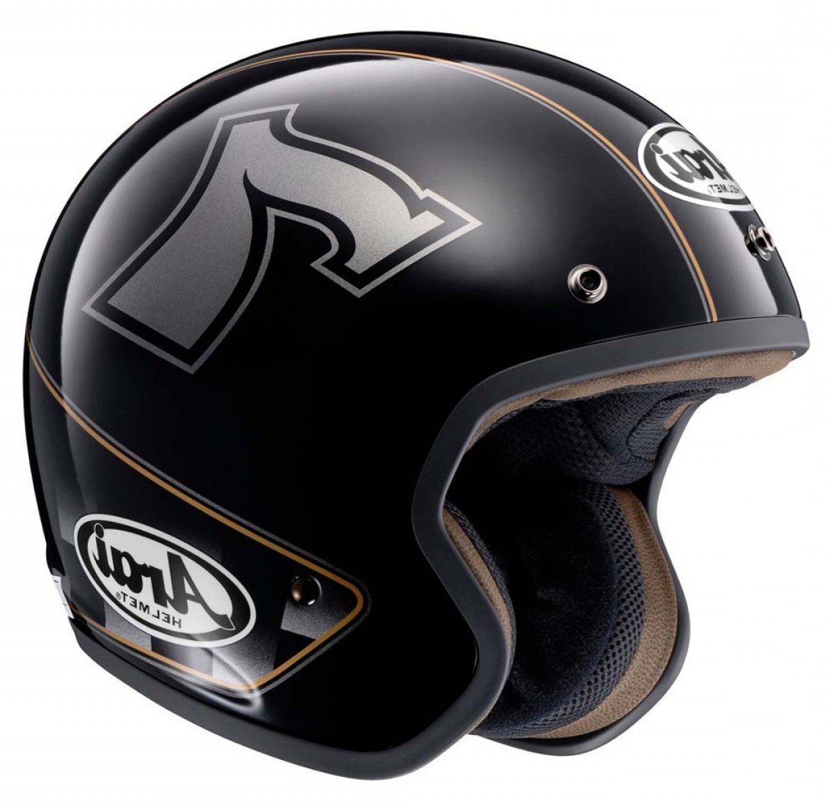 Arai Vector 2 Model: Arai Freeway Classic Cafe Racer Jet Black Helmetsarai Helmet Clearance High Quality P