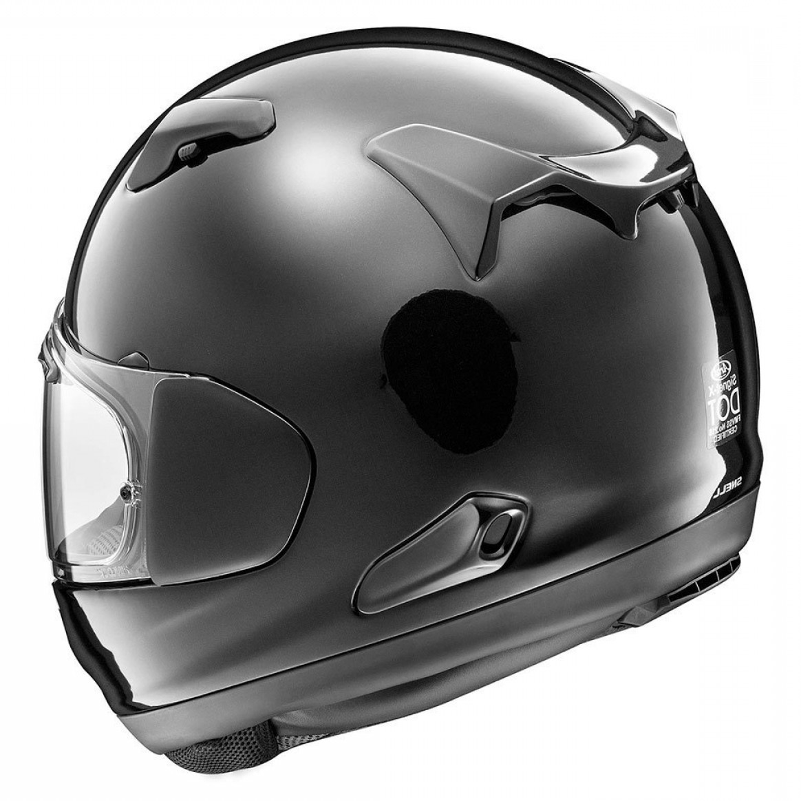 Arai Vector Green White 1: Arai Signet X Helmet Diamond Black