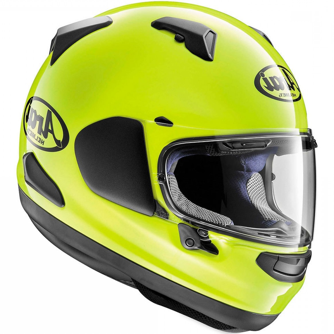 Arai Vector 2 Model: Arai Signet X Helmet Fluorescent Yellow