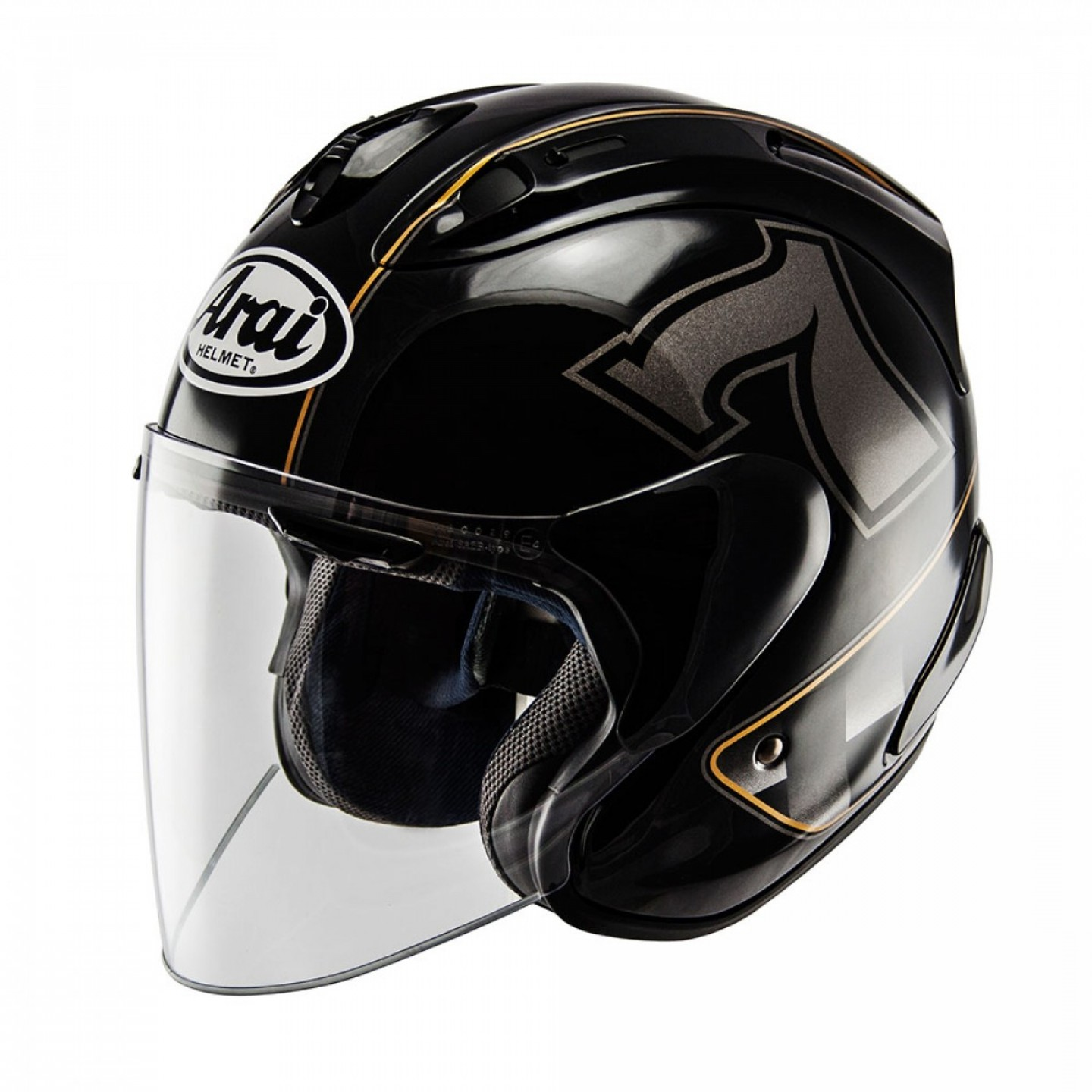 Arai Vector Green White 1: Arai Sz Ram X Cafe Racer Jet Black Helmetsarai Vector Reviewauthentic P