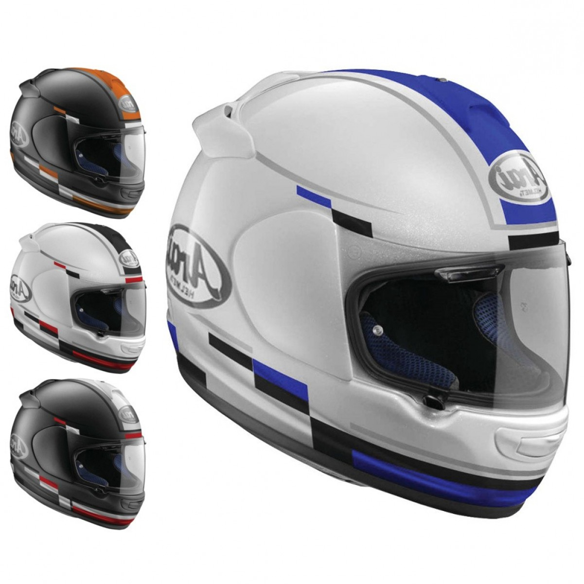 Arai Vector 2 Model: Arai Vector Blaze Mens Motorcycle Helmets