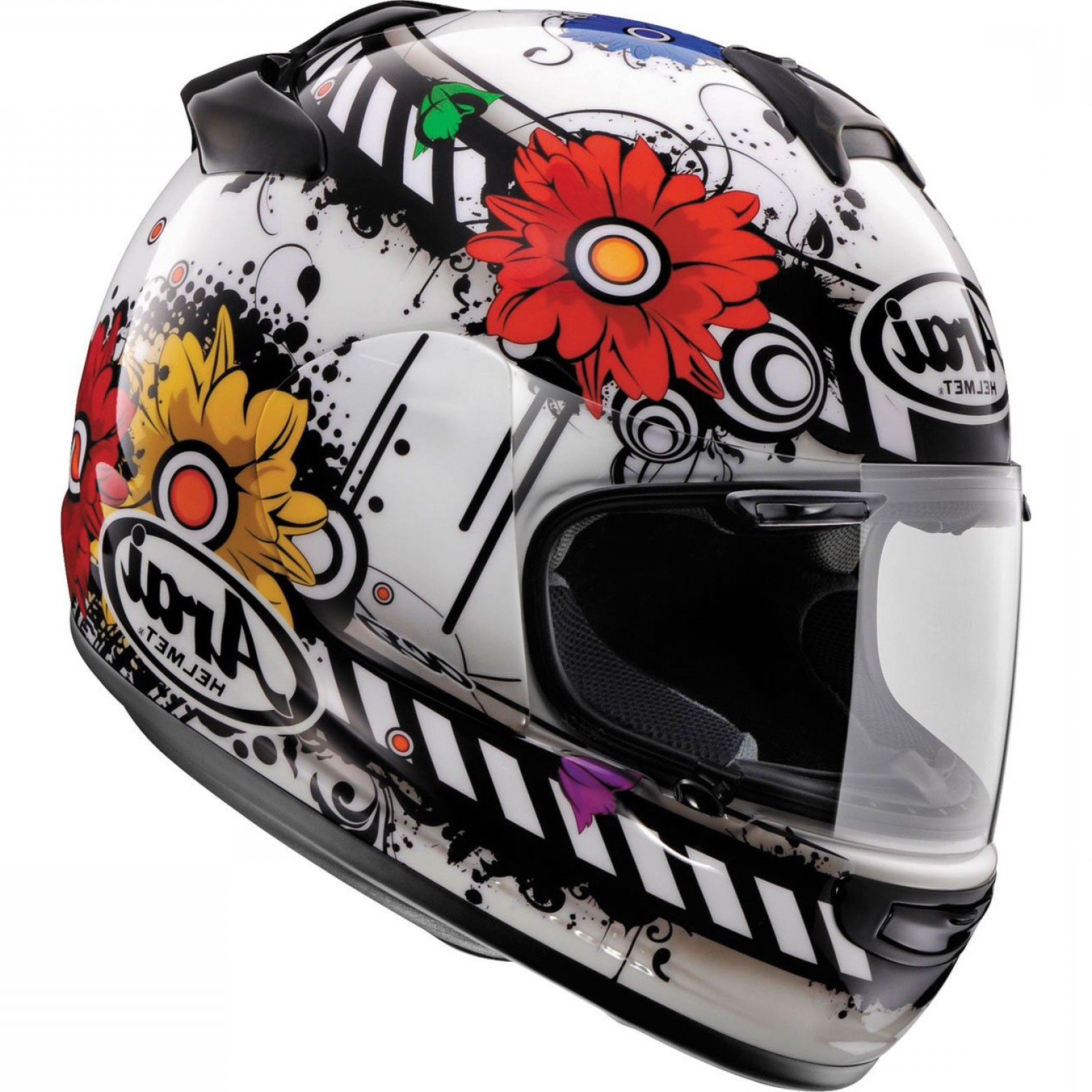 Arai Vector 2 Model: Arai Vector Blossom Full Face Helmet
