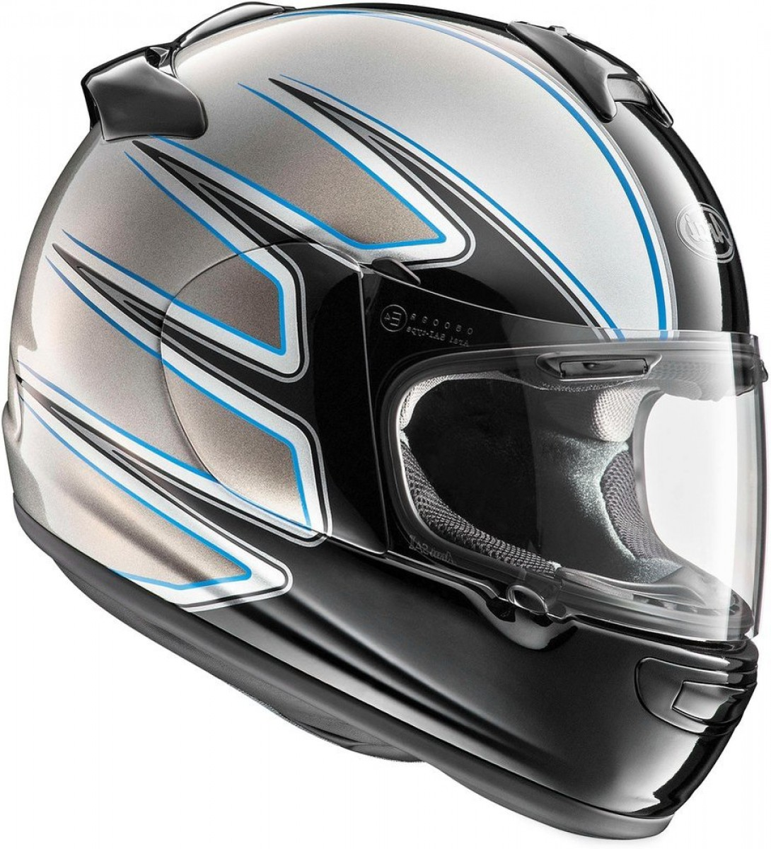 Arai Vector 2 Model: Arai Vector El Camino Full Face Helmet With Flip Up Shield