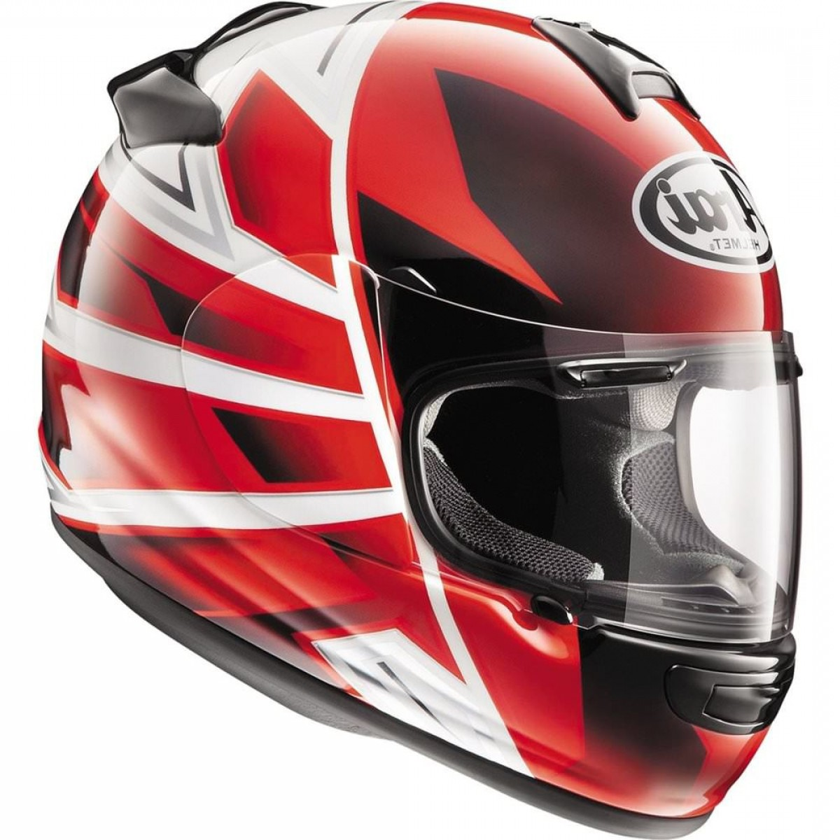 Arai Vector Green White 1: Arai Vector Hawk Full Face Helmet Parent