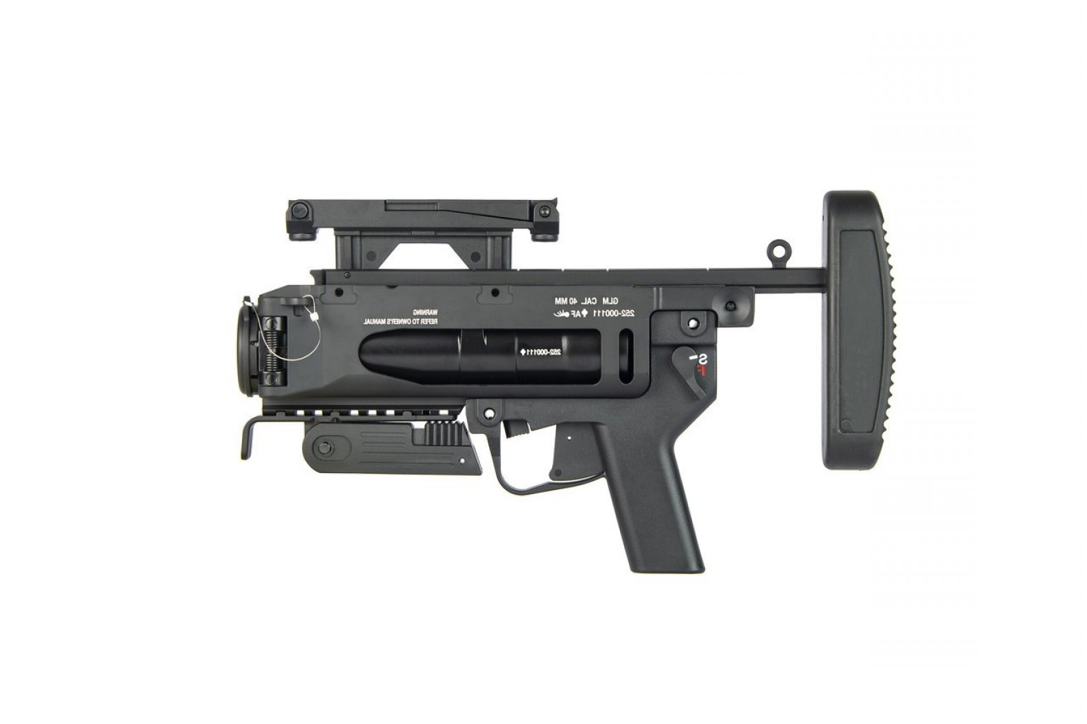 Vector Arms Uzi Manual: Ares M Mm Grenade Launcher Black