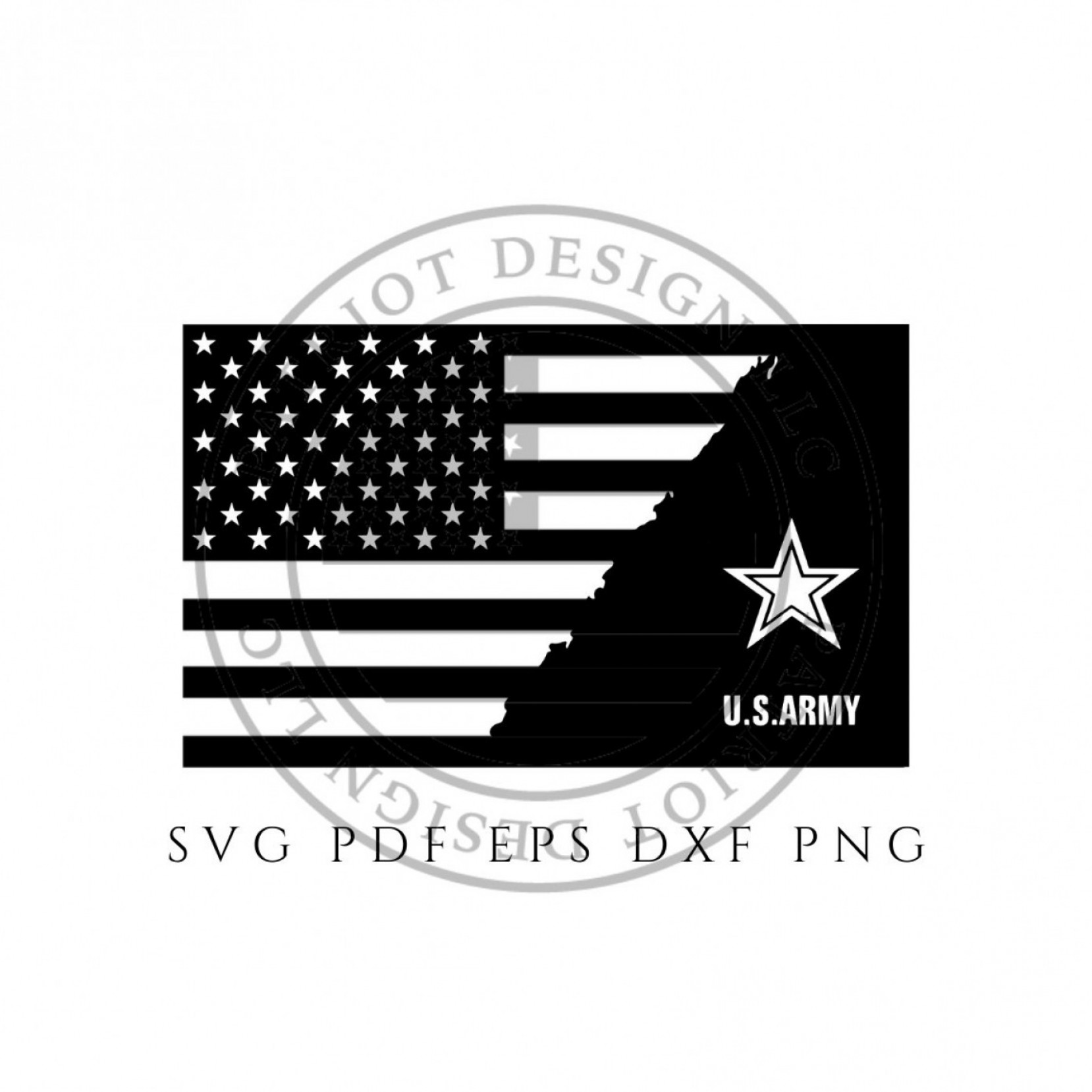 United States Armed Forces Logo Vector: Army Flag Us Army Army Logo Flag