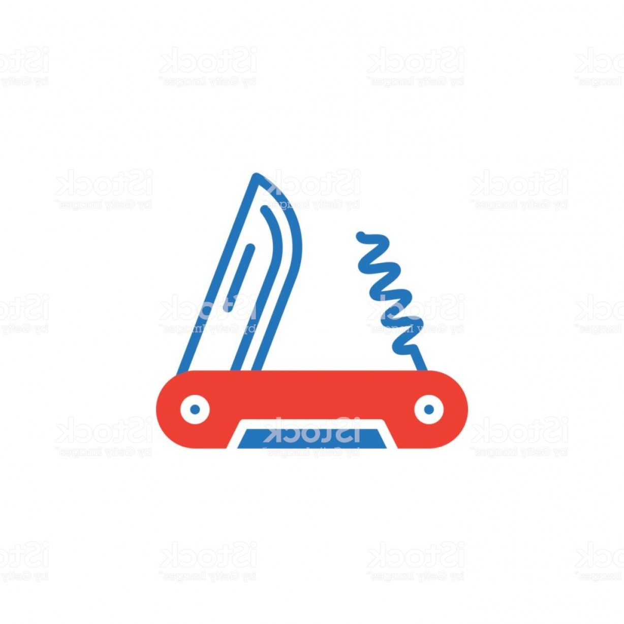 Vector Army Knife: Army Knife Icon Vector Filled Flat Sign Solid Colorful Pictogram Isolated On White Gm