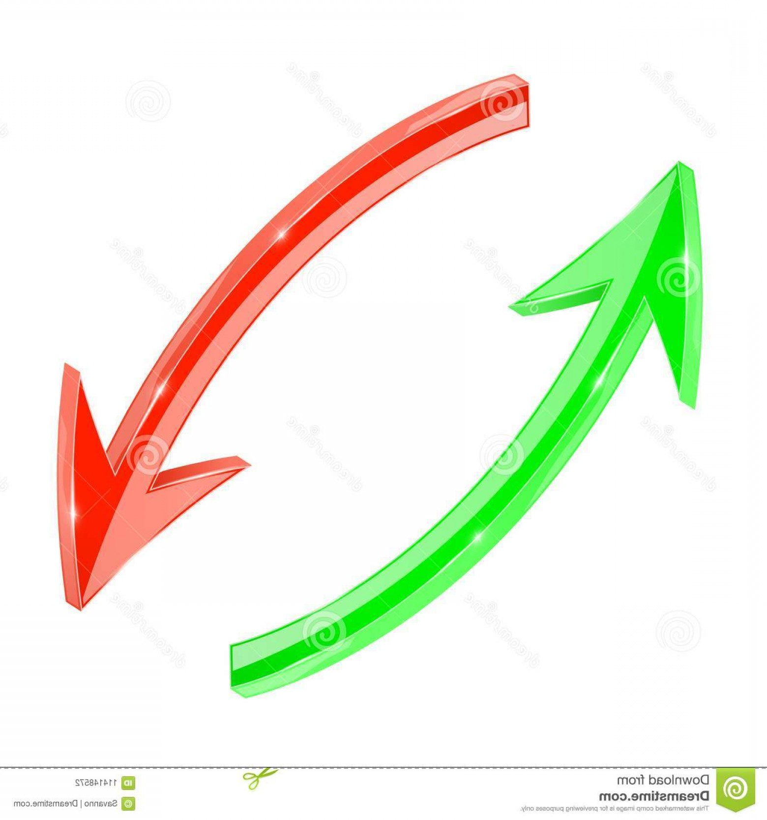 Recycle Icon Vector Red: Arrows Red Green D Arrows Circular Motion Refresh Recycle Icons Arrows Red Green D Arrows Circular Motion Refresh Image