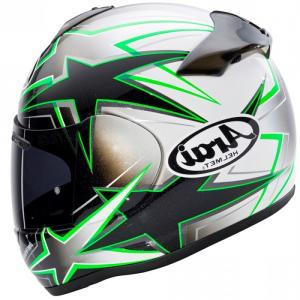 Arai Vector 2 Model: Arai Vector White Full Face Helmet