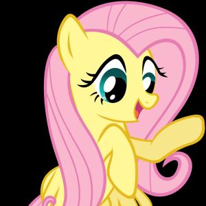 MLP Vector Think Pink: What Does Fluttershy Think Of You