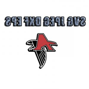 Atlanta Falcons Logo Vector Silhouette: Atlanta Falcons Heartbeat Svg Vinyl Cutting Decal For Mugs T Shirts Cars Svg Files Silhouette Cameo Svg Cutting Files Svg Decal