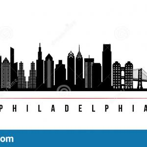 Detroit Skyline Vector EPS: Atlanta Skyline Silhouette Vector