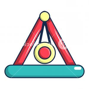 Attraction Icon Vector: Attraction Pendulum Icon Cartoon Illustration Of Attraction Pendulum Vector Icon For Web Design Rndeagvmqjjhom