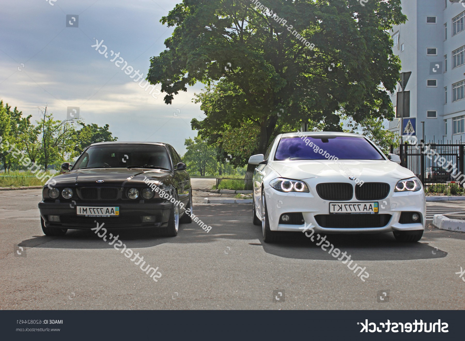 BMW F10 Vector Art: August Combo Bmw Two