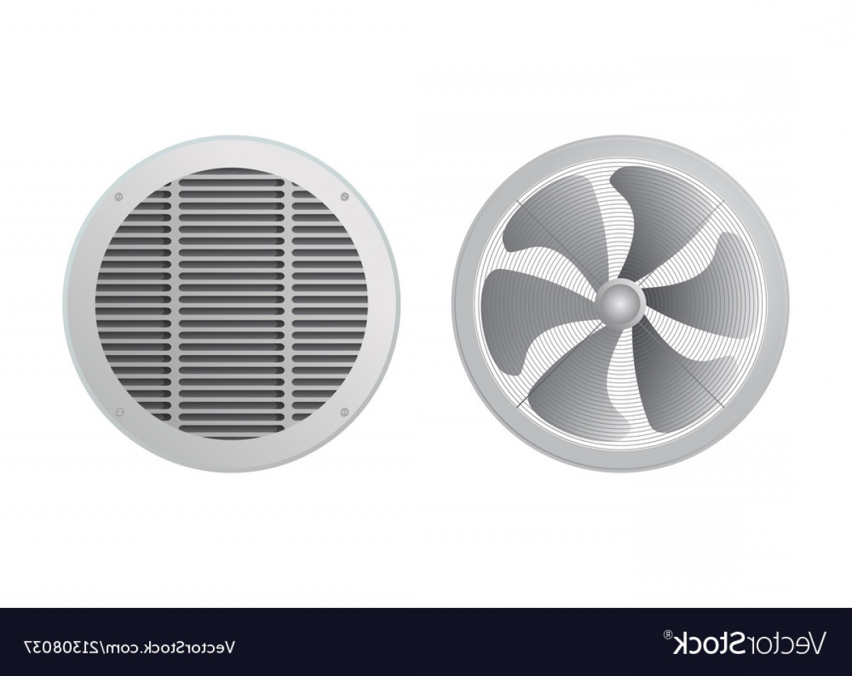 Concept Axial Vector Engine: Axial Fan And Ventilation Grille Vector