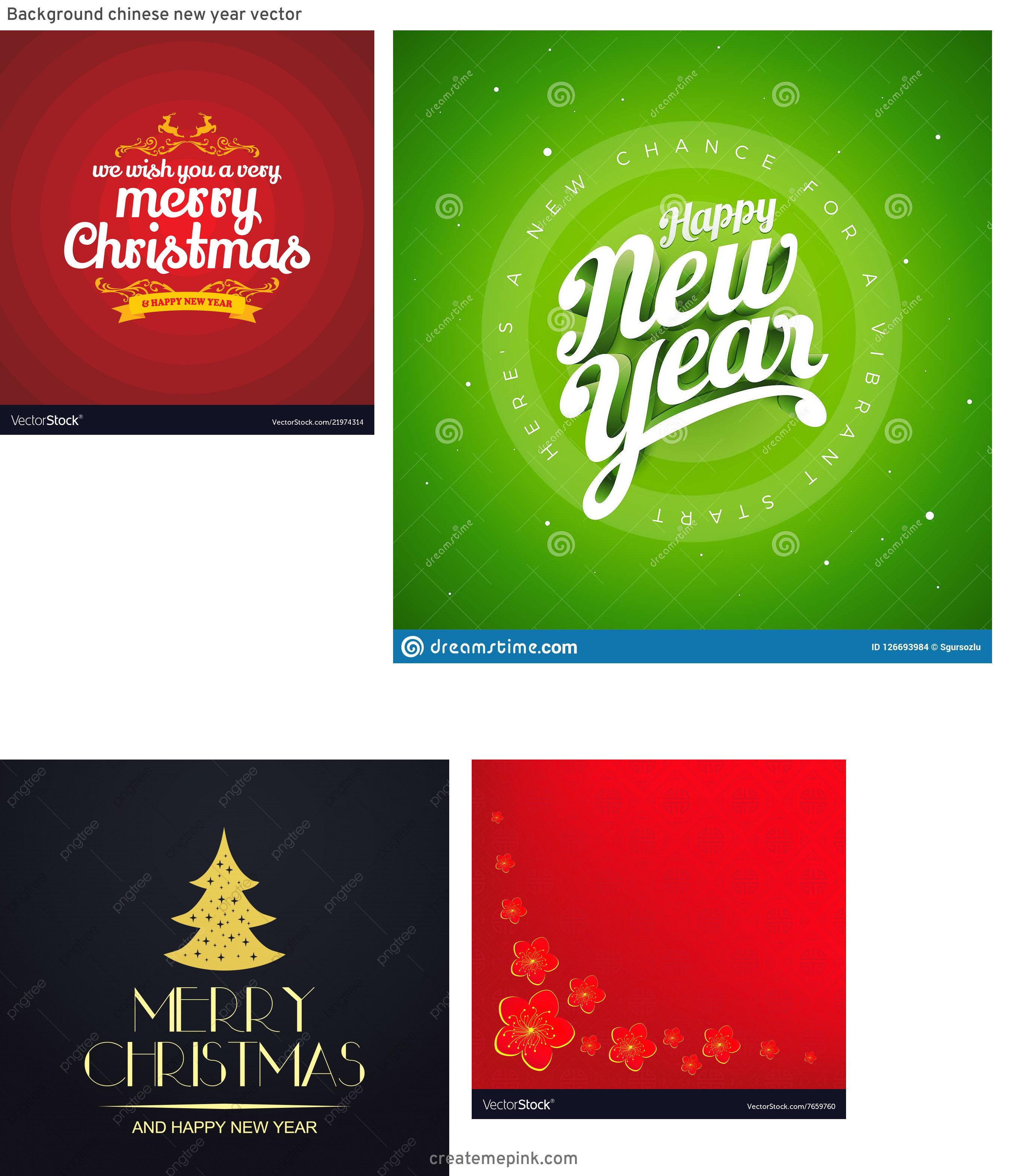 Free New Year Vector: Background Chinese New Year Vector