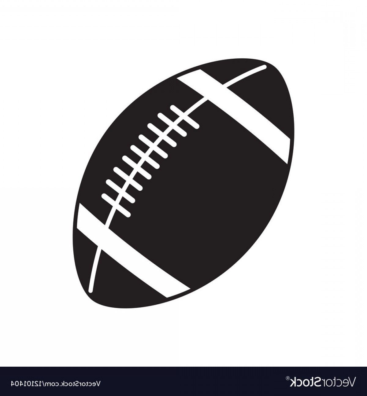 High Res Vector American Football: Ball Of American Football Design Vector
