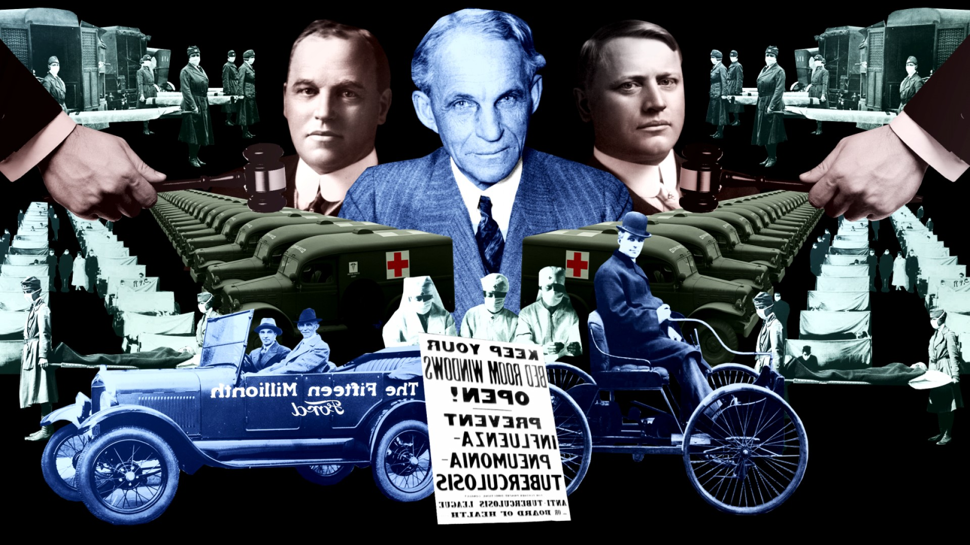 1903 Ford Motor Company Vector Art: Bar Fights Lawsuits And The Flu Pandemic The War Betw