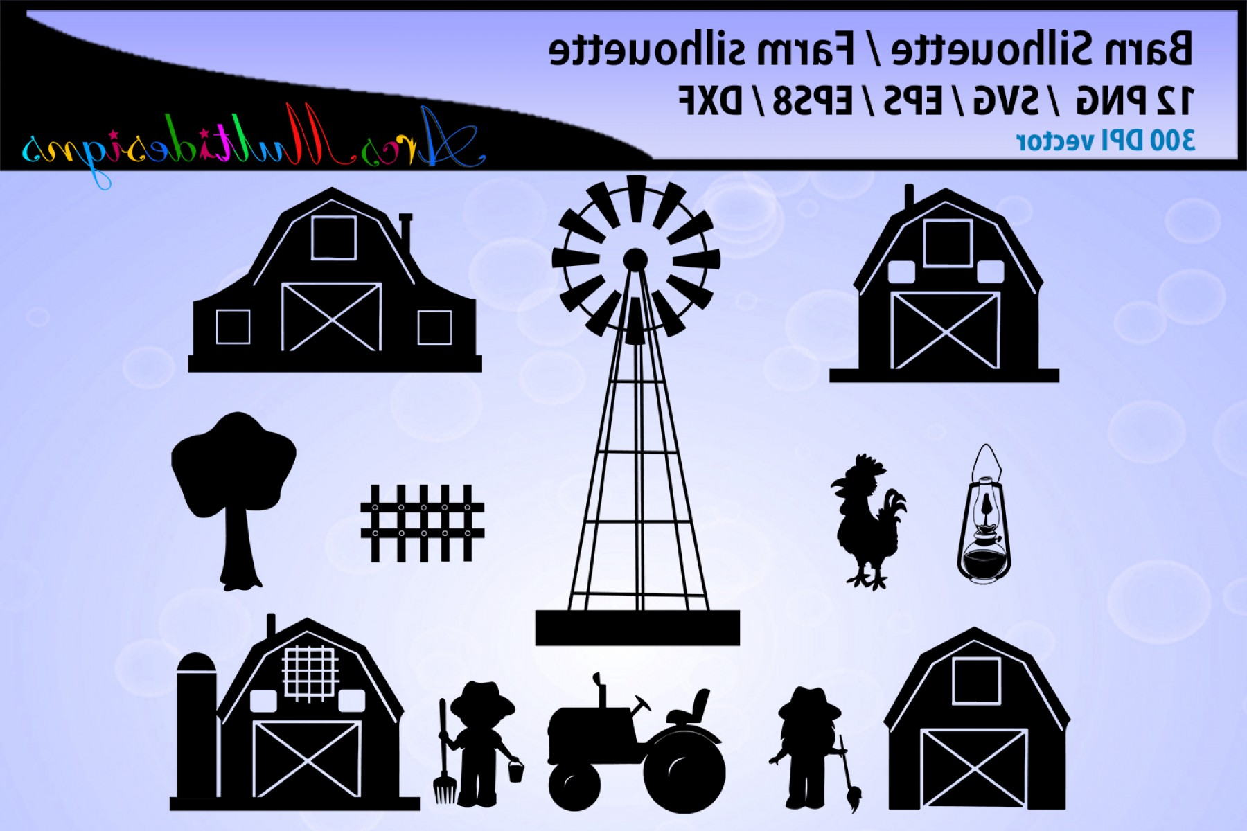 Barn Outline Vector: Barn Svg Silhouette Barn Vector Farm Svg Farm Svg