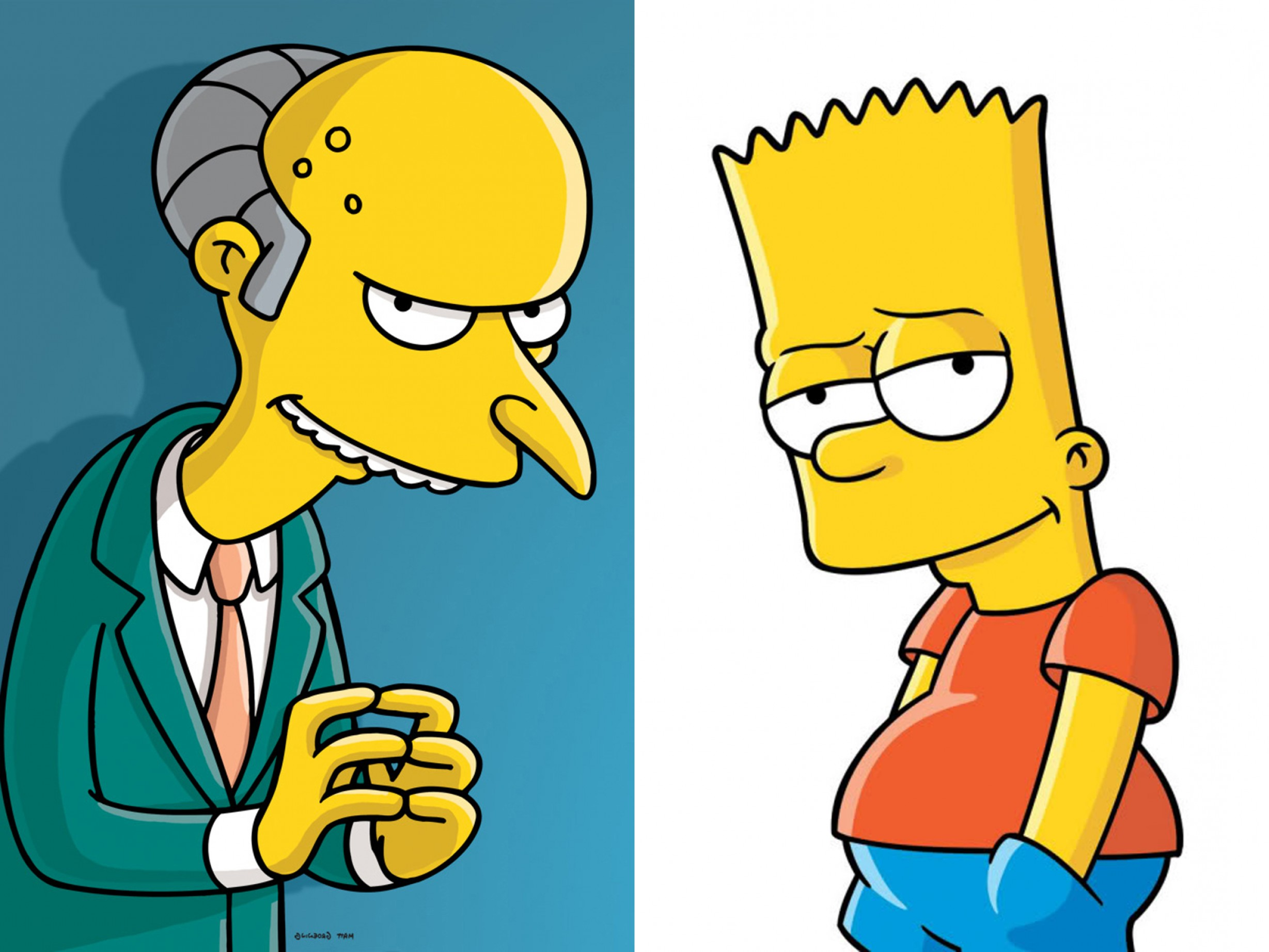 Bart Simpson Vector: Bart Simpson Faces Mr Burns In Court But This Is Real Life Warwick Not Springfield