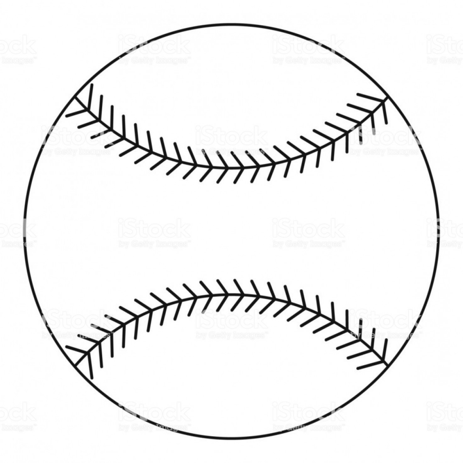 Chicago White Sox Logo Vector EPS: Baseball Ball Icon Outline Style Gm