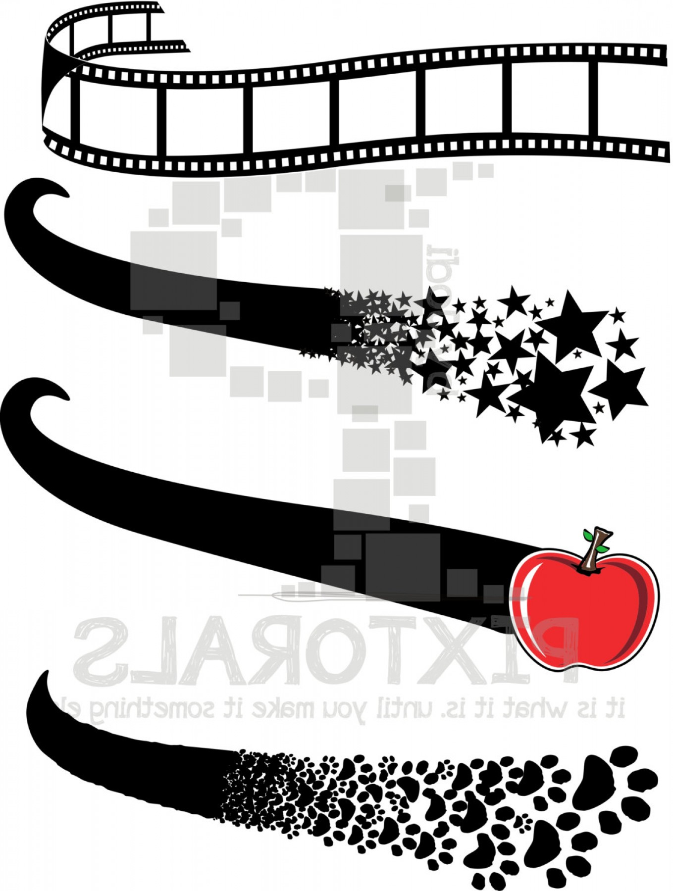 Baseball Tails Vector Clip Arts: Baseball Tails For Kids Vector Files