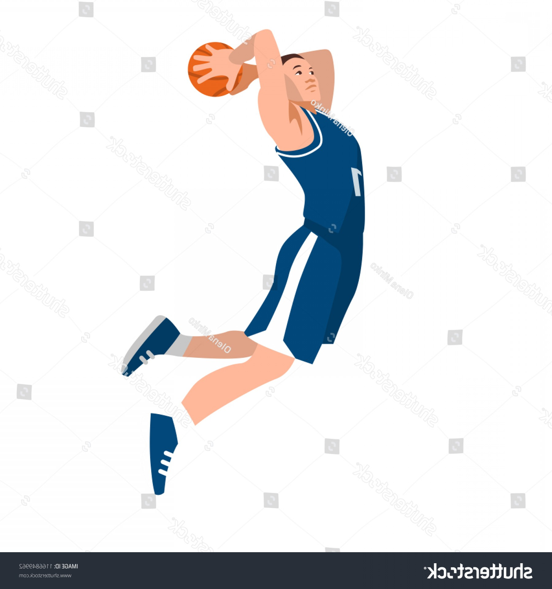 NBA Jersey Vector Art: Basketball Player Uniform Ball Isolated On
