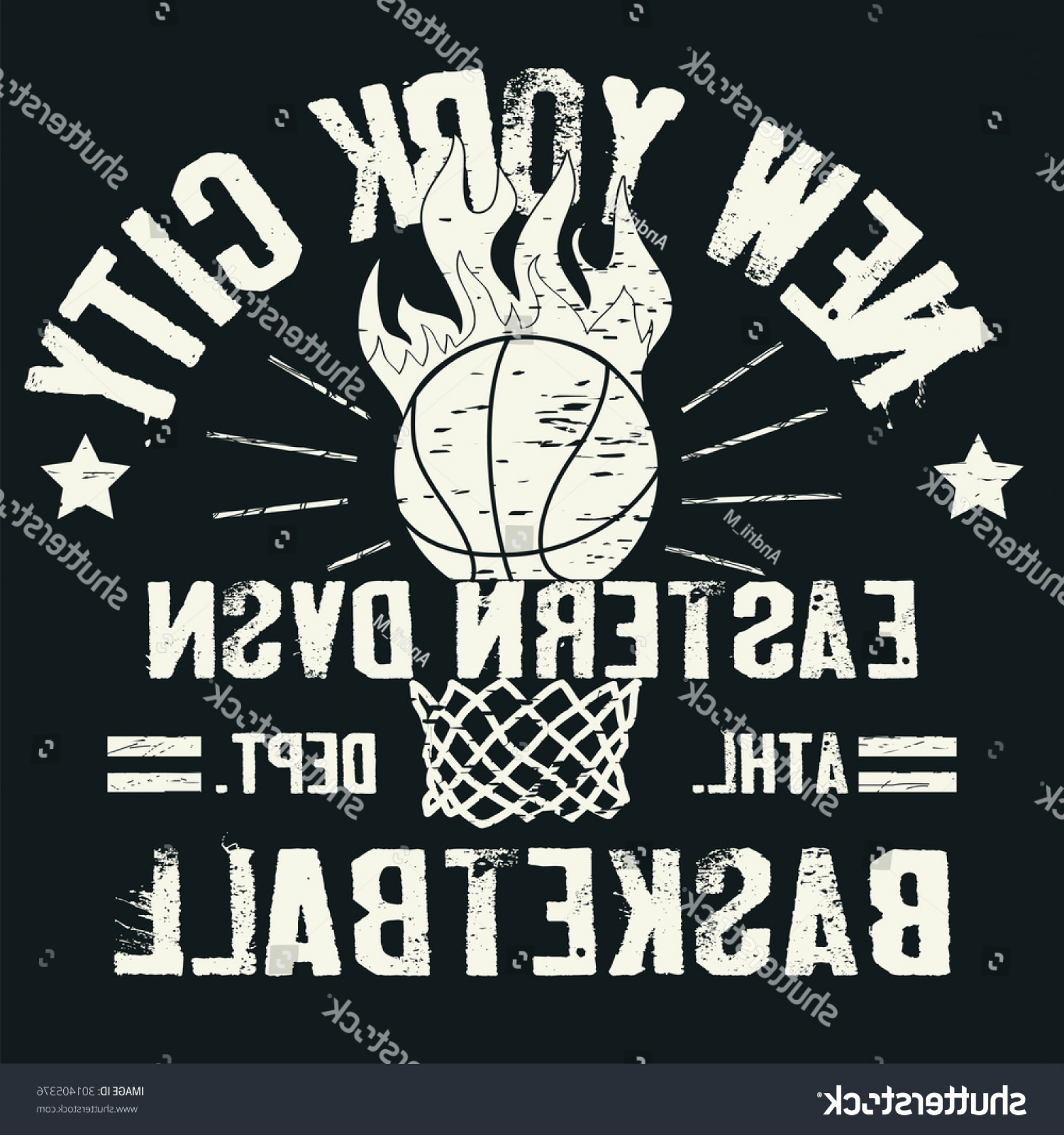 Basketball Vector Graphic Designs: Basketball Tshirt Graphic Design Sport Team