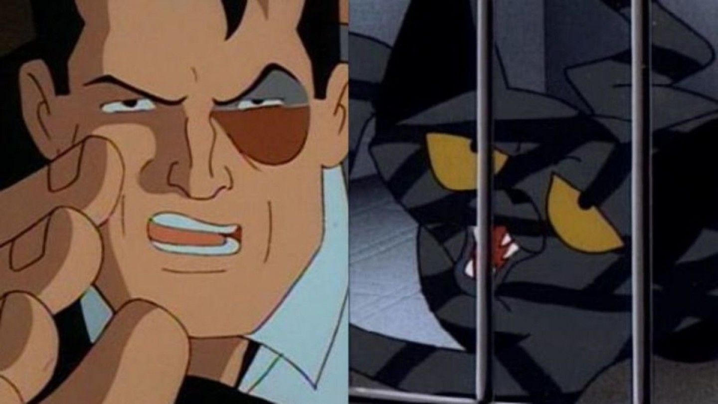 Vector Cartoon Cat Scratch Fever Catwoman: Batman The Animated Series Night Of The Ninja Cat