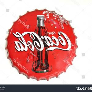 Coca-Cola Vector Silhouette: Bangkokthailand September Cocacola Lid On