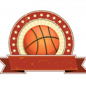 Grunge Basketball Vector: Basketball Grunge And Vintage Banner