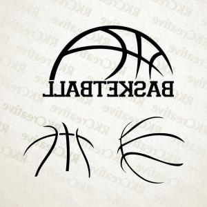 Basketball Seams Vector Clip Art: Baseball Stitches Vector Lace Isolated On