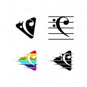 Bass Clef Vector: Bass Cleff Icon Vector Collection Colourful Bass Clef Vector Bass Cleff Icon Vector Collection Colourful Bass Clef Vector Whiet Image